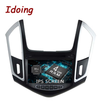 Idoing 8 2Din 4G + 32G автомобильное радио gps Android 9,0 для Chevrolet Cruze 2013 2014 2015 8 Core Multimidia gps навигация Wifi 3g