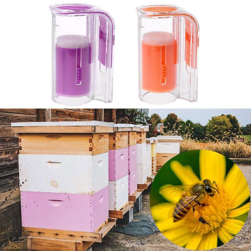 Bee Queen Marking Catcher Marker Bottle Plunger Plush Beekeeper Tool Garden Beekeeping-in Beekeeping Tools from Home & Garden