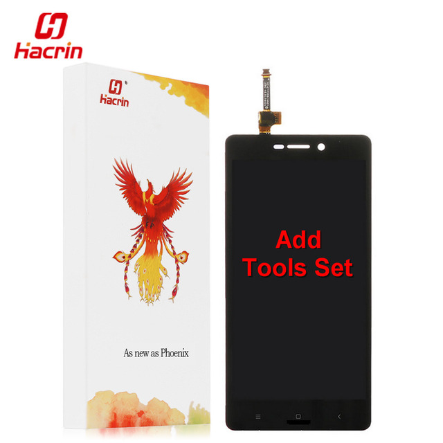 hacrin Xiaomi Redmi 3S LCD Display + Touch Screen 100% New Digitizer Assembly Replacement For Redmi 3S Pro / Prime Cell Phone