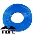 Mofe 8 m/roll novo carro-styling 9 cores disponíveis colorido faixa car auto elegante protetor da borda da roda capas de carro
