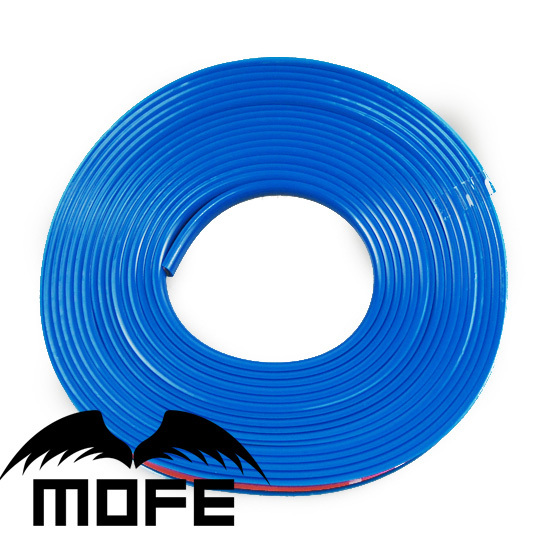 Mofe 8M/Roll New Car-styling 9 Colors Available Colorful Strip Car Auto Stylish Wheel Rim Protector Car Covers