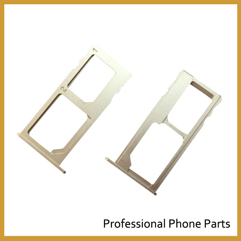 Golden SIM Card Tray Slot Holder For Letv 1 S X500 Letv Le One S 5.5 Inch Replacement Parts