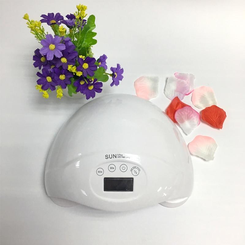 SUN5 Plug UVLED Fast Drying 48W Good Nail Dryer With Sensor Nail Dryer Long Life Curing Nail Tools for All UV Gel Nail Polish nail dryer