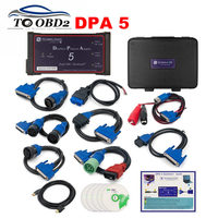 DHL FREE Without Bluetooth DPA5 Dearborn Protocol Adapter Heavy Duty Truck Scanner Multi Language DPA 5 Dual CAN Best SALE