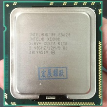 Processeur Intel Xeon E5620, Cache 12M, 2.40 GHz, 5.86 GT/s, CPU Intel QPI LGA1366, 100%, fonctionnement normal