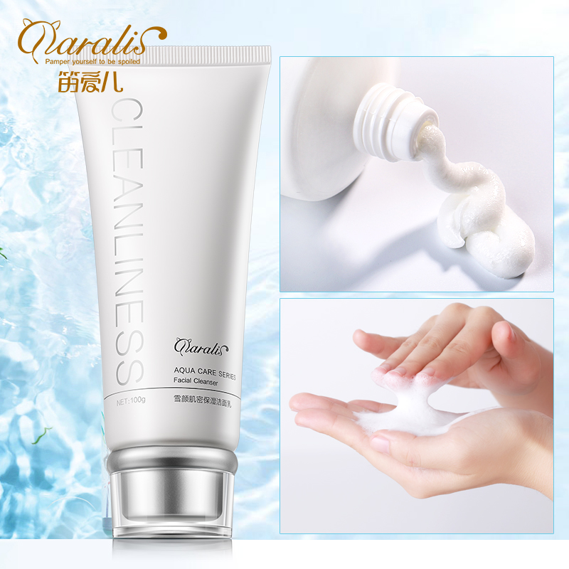 цена на Daralis Facial Cleanser Face Wash Cleansing Foam Facial Cleanser Anti Aging Deep Pore Cleansing Skin Care For Dry to Normal Skin