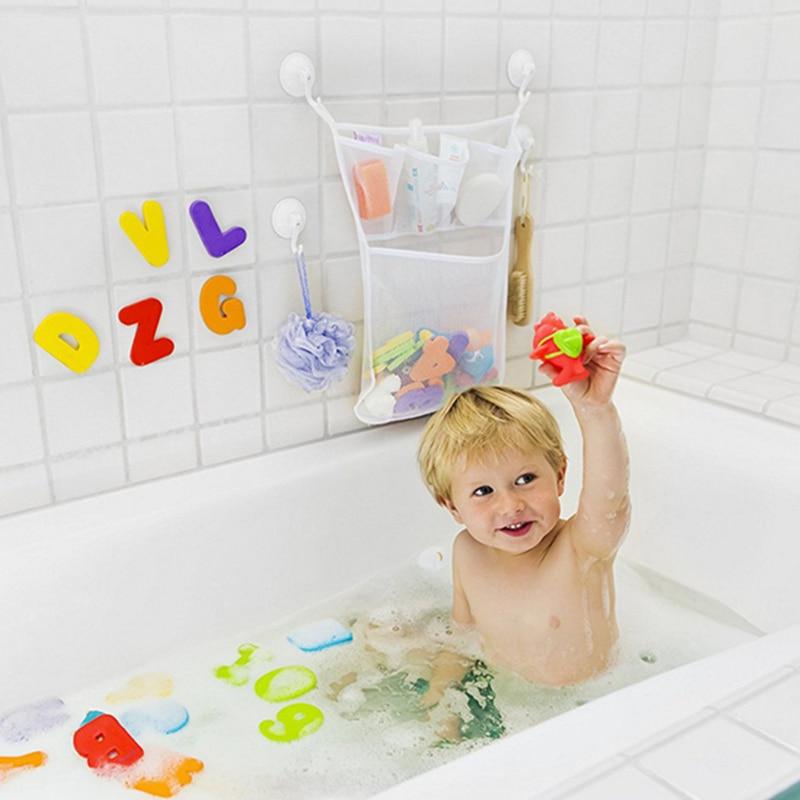 Large Bathroom Baby Kids Bath Bathtub Toy Mesh Storage Bag Suction Cup Tidy Toys  Organizer Baskets In Storage Bags From Home U0026 Garden On Aliexpress.com ...