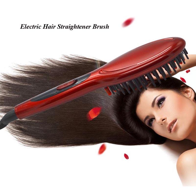 Hot Sale Electric font b Hair b font Brush Professional font b Hair b font Straightener