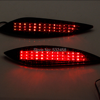 New Car Styling 2 PCS Parking Warning For 2011 Hyundai Elantra DC 12V Rear Bumper Reflector