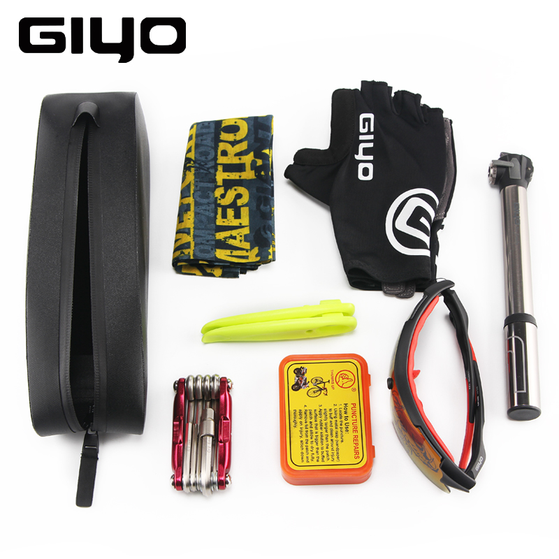 GIYO Rainproof Bicycle Bag Front Frame Bike Tube Bag Mountain Road Bike Triangle Bags Panniers Cycling Carrier Bag For Bicycle in Bicycle Bags Panniers from Sports Entertainment