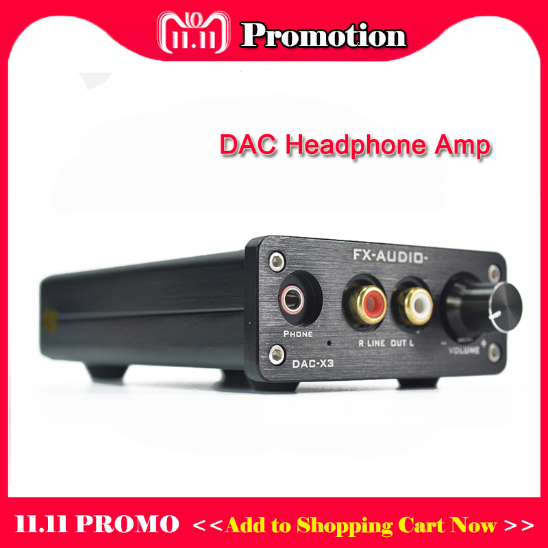 FX-Audio DAC-X3 Desktop DAC Headphone Amplifier Hi fi CM108+CS8416+CS4344+NE5532 Headphone Amp DAC USB Optical input пеналы маша и медведь пенал одно секционный фантазия
