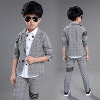 2018 Spring Children's Dress Boys' Suit Two piece Boy Suits