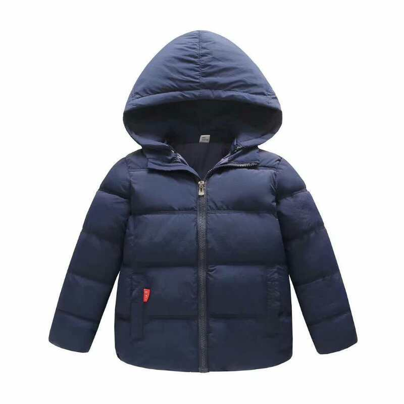 Winter Jacket Girl 2018 New Brand Baby Boy Winter Feather Parkas For Teenagers Kids Warm Down Coats High Quality 2-8 Years цена