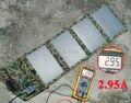 Alta qualidade 14 watt carregador solar portátil para o telefone móvel iphone ipad tablet acampamento ao ar livre viagem usb carregador solar de bateria