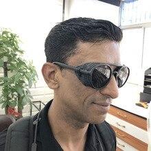 VEGA Eyewear Retro Steam punk sunglasses Women/Men Round Ste