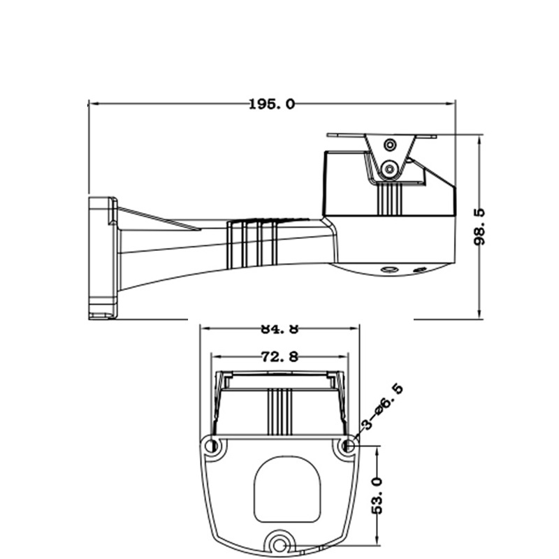 ptz bracket electrical rotating bracket pan tilt