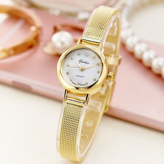 Fashion branded ladies watches 2017 Fashion Women diamond bracelet watches Wrap