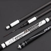 High Carbon SuperHard Fishing Rod 3.6 7.2M Telescopic Rod Sea fishing Rod Taiwan Fishing Rod For big carp Fish B071