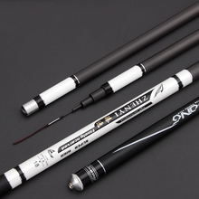 High Carbon SuperHard Fishing Rod 3.6-7.2M Telescopic Rod Sea fishing Rod Taiwan Fishing Rod For big carp Fish B071 цены онлайн
