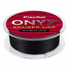 Piscifun Braided Line 300Yds 274M 6-150LB Super Strong PE Braided Fishing Line Multifilament Fishing Line