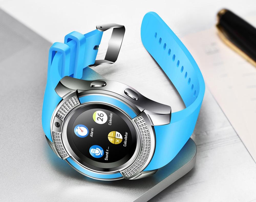 blue dz09 smartwatch