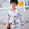 kids pajamas 2017spring&autumn new cartoon cotton long sleeve baby boyspyjamas Casual children sleepwear sets Christmas clothes