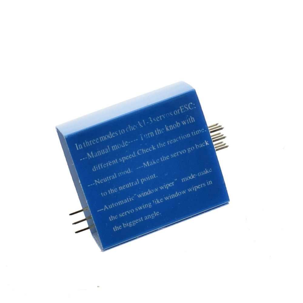 Controlador maestro de consistencia inteos bienvenidos de prueba de engranaje Servo TZT 3CH 4,8-6 V con luz indicadora