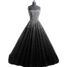 A-line Strapless Sleeveless Elegant Evening Dress