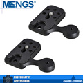 MENGS 2Pcs per pack M-Pro Quick Release Plate Tripod Mount Attachment For Arca-Swiss And Manfrotto RC2(14010011601)