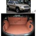 Envío libre estera del tronco de coche estera de carga para jeep grand cherokee wk2 2011 2012 2013 2014 2015 2016