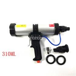 Vendita caldo 300 ML Tubo Installato Pneumatica Pistola di Colla, 21.5-22.5 CM, 6 bar, Con 1 Interfaccia veloce, 1 Valvola di Controllo, 2 Anelli di Tenuta