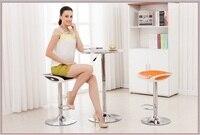 İskandinav Moda Bar Taburesi Şirket bilgisayar sandalye ücretsiz nakliye Otel süt çay dışkı Caz davul eğitim odası mobilya pazarı