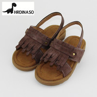 Girls Sandals Summer Shoes Synthetic Leather Toddler Girls Sandals New 2018 Pincess Shoes Cow Muscle Sole old Fashion Brand