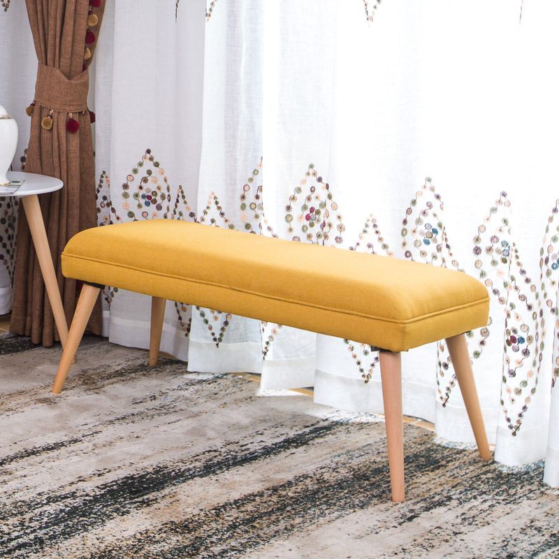 Groovy Us 139 8 Entrance Shoe Stool Ottoman Nordic Simple Bench Dressing Stool Bed Tail Stool Clothing Store Wear Shoes Bench Fabric Sofa In Stools Squirreltailoven Fun Painted Chair Ideas Images Squirreltailovenorg