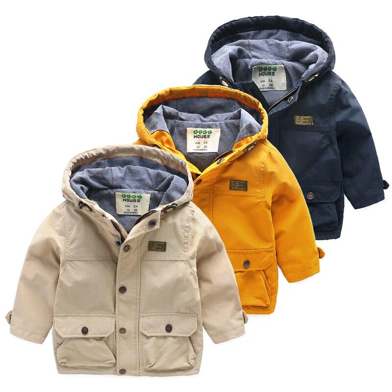 Boys Trench Coat 2016 New Spring Boys Windbreaker High Quality 5 14 Years