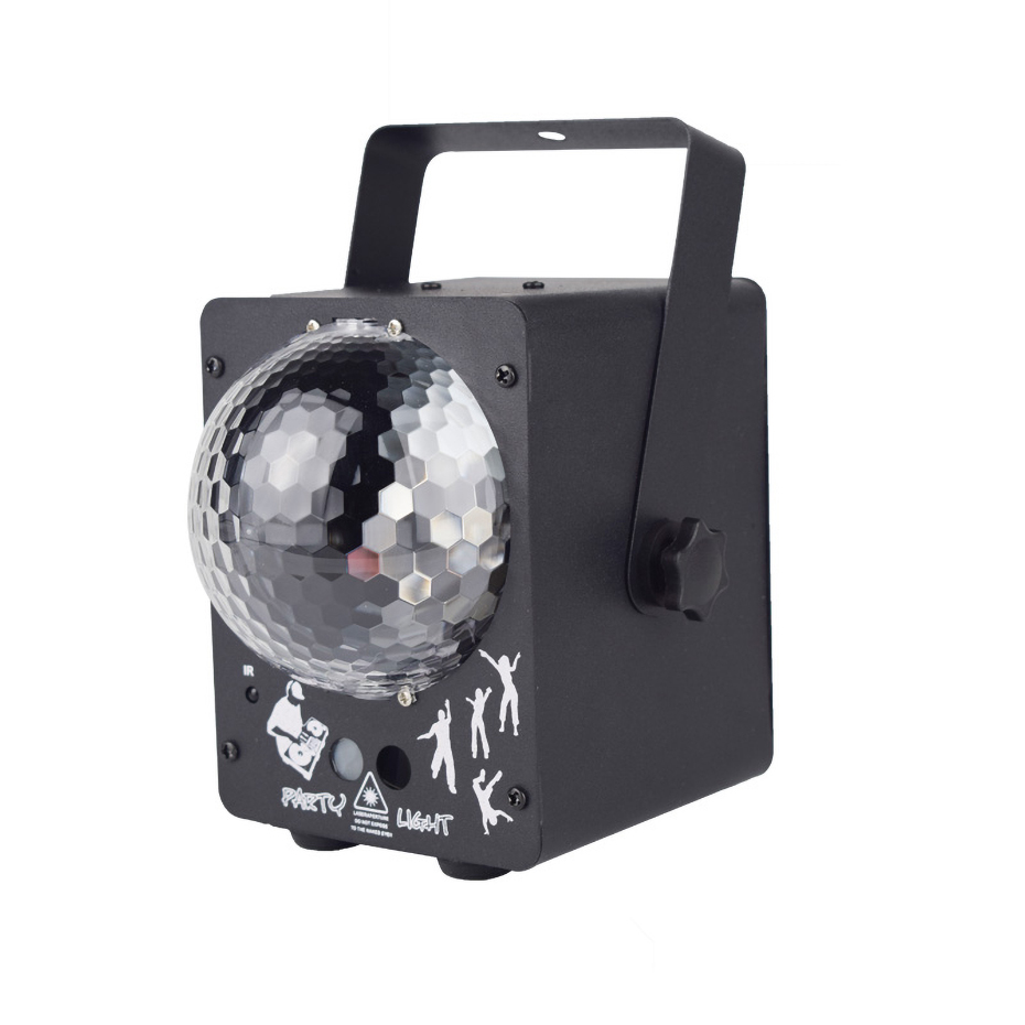 Image 3 - ALIEN RGB LED Crystal Disco Magic Ball With 60 Patterns RG Laser Projector DJ Party Holiday Bar Christmas Stage Lighting Effect-in Stage Lighting Effect from Lights & Lighting