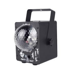 Image 3 - ALIEN RGB LED kristal disko sihirli top ile 60 desenler RG lazer projektör DJ parti tatil Bar noel sahne aydınlatma etkisi
