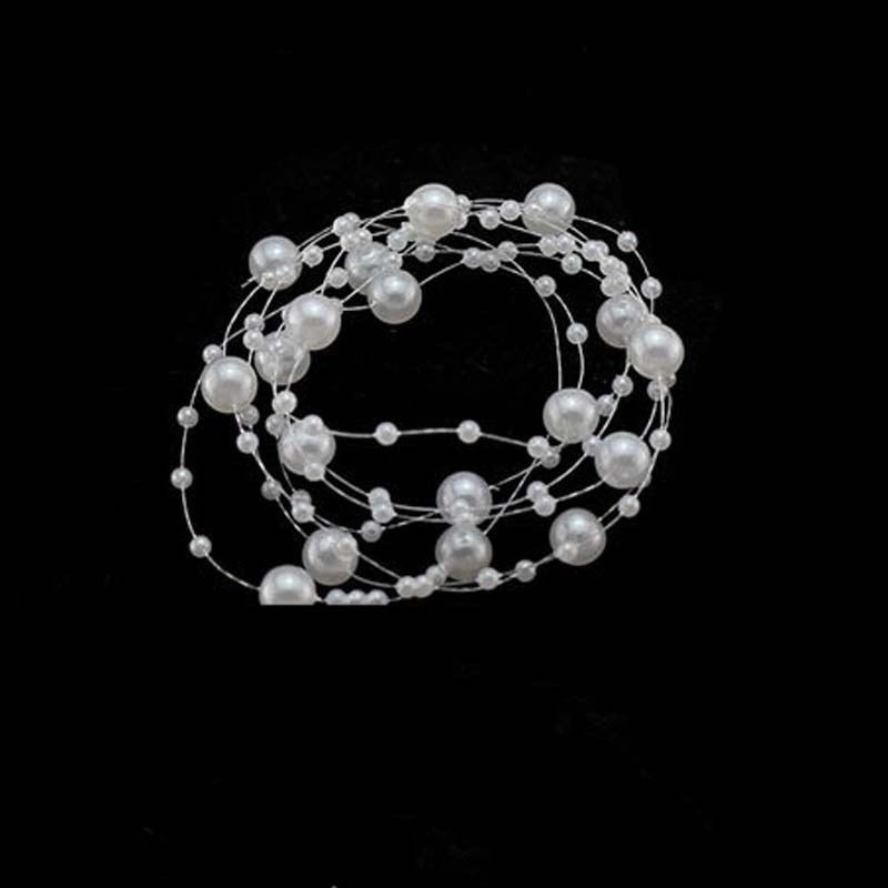1pc White Pearl Studded Wedding Party Bridal Headpiece Tiara Headdress Hairband Headbands Hair Accessories Hairpins Hair Jewelry in Women 39 s Hair Accessories from Apparel Accessories
