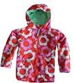 UK оригинальный Mini BODEN, детская куртка, комплект и изображениями красочного цветка для девочек непромокаемая куртка-ветровка для маленьких мальчиков детское теплое веселый рождественский пальто - фото
