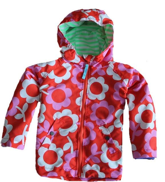 Uk Original Mini Boden Children S Jacket Colorful Flower Girls