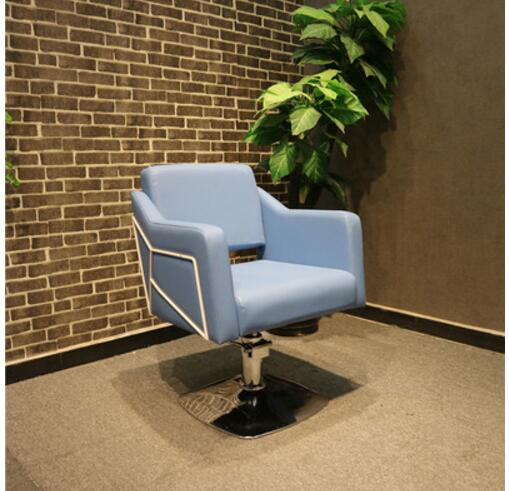 Earnest New Special Price Manufacturer Direct Sale Can Lift Hairdressing Chair Fashionable Simple Restoring.ancient Ways Clipping Chair Barber Chairs Salon Furniture
