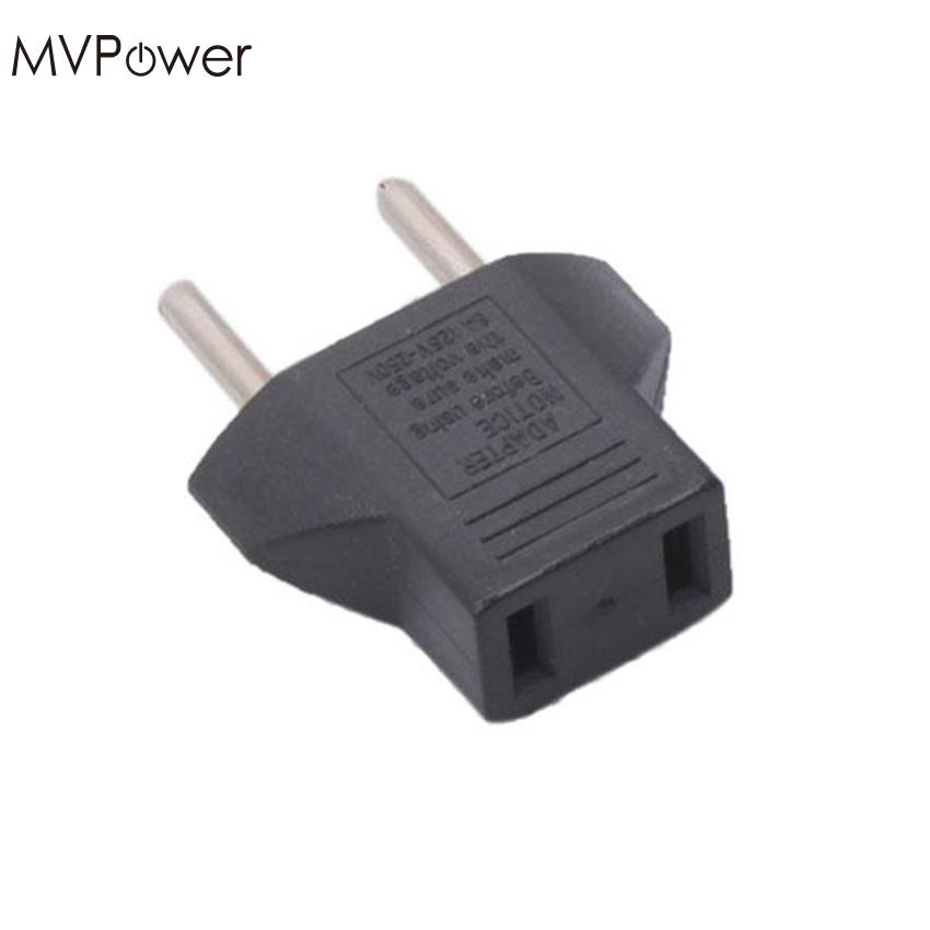 MVpower Portable Travel Plug Charger Converter US/USA to EU/EURO Plug Standard Adapter Useful