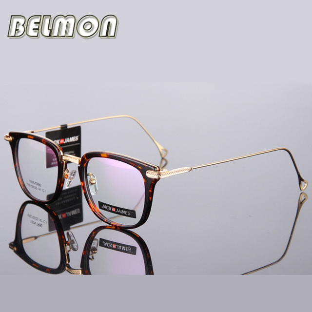 Spectacle Frame Women Eyeglasses Men Computer Optical Eye Glasses Frame For Women's Transparent Lens Male Female Oculos de RS298