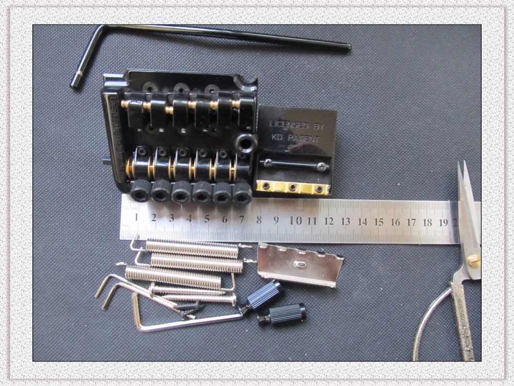 What Are Electrical Instruments : New licensed by kd patent electrical guitar tremolo bridge
