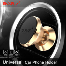 RAXFLY Car Holder Magnet Car Phone Holder Stand For iPhone 8 X 360 Degree Mount Holder Magnetic Mobile Phone Holder For iPhone X