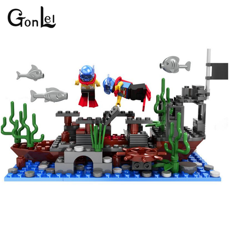GonLeI Pirates Of The Caribbean Brick Bounty Pirate Ship Building Blocks Christmas Gifts for kids kazi black pearl caribbean pirates ship building blocks sets bricks christmas birthday gifts diy toys for children