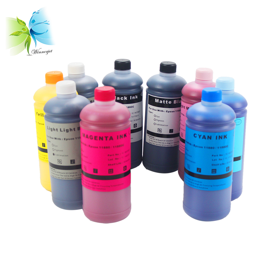 WINNERJET 1000ml Dye Printing Ink for Epson Stylus Pro 11880 Printer in Ink Refill Kits from Computer Office