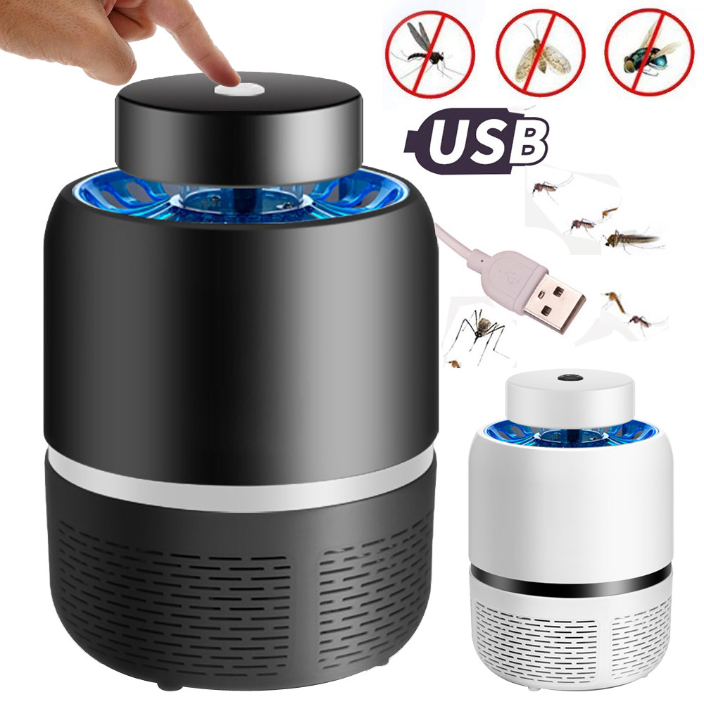 Mobile Phone Adapters Generous Electric Fly Bug Zapper Insect Mosquito Killer Led Light Trap Lamp Pest Control Usb Adapter Enviromental Design Low Consumption Promoting Health And Curing Diseases