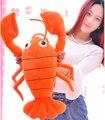 1 шт. 65 см забавный омар раки курица плюшевые куклы подушка новинка творческий романтическая девушка фестиваль подарок мягкую игрушку