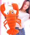 1 pc 65 cm engraçado frango lagostim lagosta de pelúcia boneca travesseiro criativo novidade romântico festival menina presente brinquedo de pelúcia